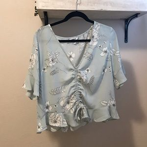 Ruched Express Blouse